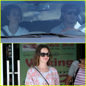 Leighton Meester & Adam Brody: Early Morning Drive!