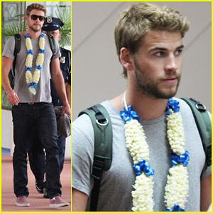 Liam Hemsworth: Manila Arrival Post-Miley Cyrus Split Rumors
