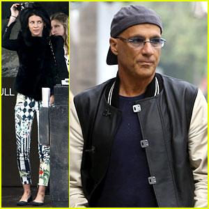 Liberty Ross & Jimmy Iovine: Via Alloro Lunch!