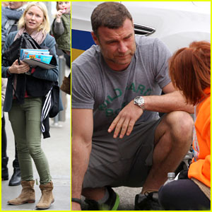 Liev Schreiber Helps Injured Citizen!