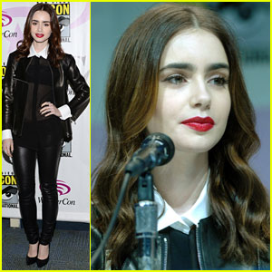 Lily Collins: 'Mortal Instruments' WonderCon Panel!