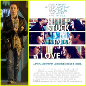 Lily Collins: New 'Stuck in Love' Trailer & Poster!