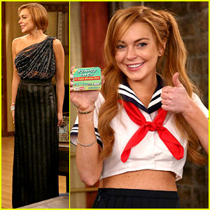 Lindsay Lohan: 'Anger Management' Guest Spot Stills!