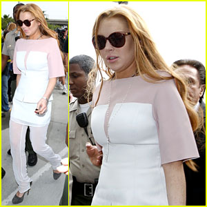 Lindsay Lohan Arrives 48 Minutes Late for Court Appearance