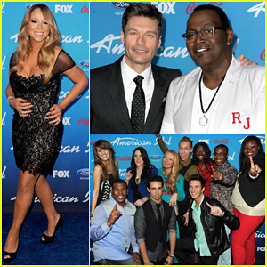 Mariah Carey: 'American Idol' 2013 Season 12 Finalists Party!
