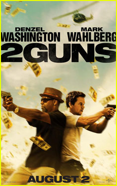 Mark Wahlberg: '2 Guns' Trailer & Poster!