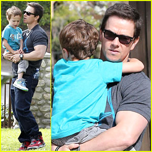 Mark Wahlberg: Coldwater Canyon Park with Brendan!