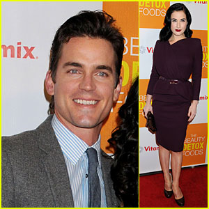 Matt Bomer & Dita Von Teese: 'The Beauty Detox Foods' Book Launch Party!