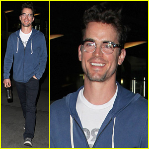 Matt Bomer: Solo Movie Night!