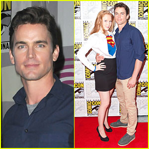 Matt Bomer Superman Unbound Wondercon Panel Matt Bomer Molly