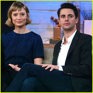 Mia Wasikowska & Matthew Goode: 'Stoker' In Theaters Now!