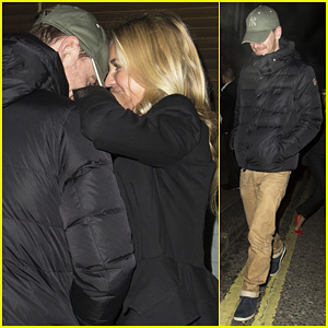 Michael Fassbender: Groucho Club with Mystery Girl!