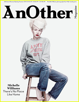Michelle Williams Covers 'AnOther' Spring/Summer 2013