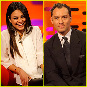 Mila Kunis & Jude Law: 'Graham Norton Show' Guests!