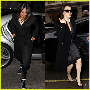 Mila Kunis & Rachel Weisz: 'Oz' Press Junket in London!