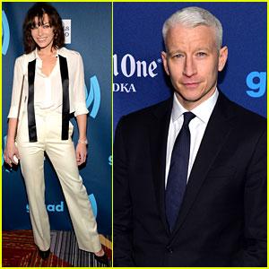 Milla Jovovich & Anderson Cooper: GLAAD Media Awards!