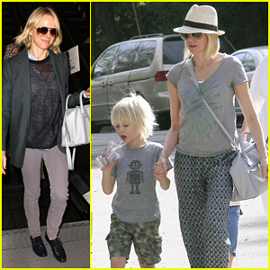 Naomi Watts: From LAX to Paris!