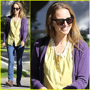 Natalie Portman: Western Costume Company Stop!