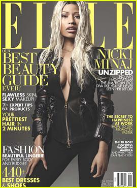 Nicki Minaj Covers 'Elle' April 2013