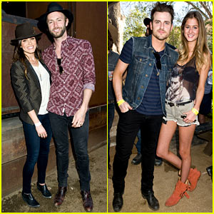 Jared Followill & Nikki Reed: AllSaints Kings of Leon Label Showcase at SXSW!