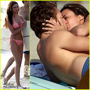 Odette Annable: Bikini Kissing for 'Westside' Pilot!