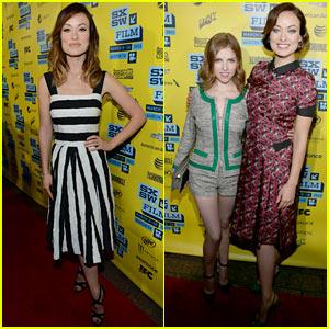 Olivia Wilde & Anna Kendrick: 'Drinking Buddies' Premiere at SXSW