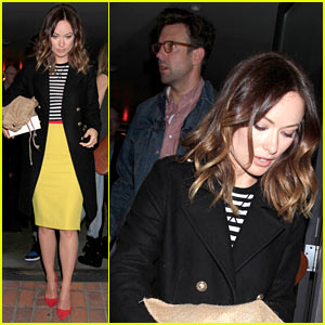 Olivia Wilde & Jason Sudeikis: 'So in Love' During Dinner Date!