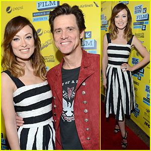 Olivia Wilde & Jim Carrey: 'The Incredible Burt Wonderstone' SXSW Screening!