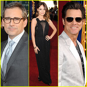 Olivia Wilde & Steve Carrell: 'Incredible Burt Wonderstone' Hollywood Premiere!
