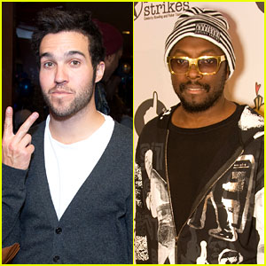 Pete Wentz & will.i.am: Stars & Strikes Charity Event!