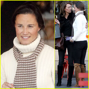 Pippa Middleton: Compoir Lunch with Mom Carole!