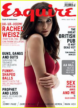 Rachel Weisz Covers 'Esquire UK' April 2013