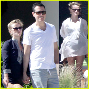 Reese Witherspoon & Jim Toth: Birthday Trip to Mexico!