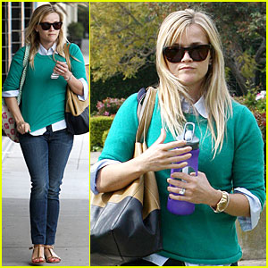 Reese Witherspoon: Michael Buble Told Me Baby News First!