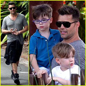 Are absolutely Ricky martin twin sons