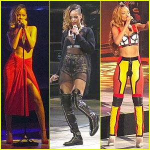 Rihanna: 'Diamonds World Tour' Launch!