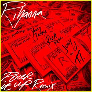 Rihanna: 'Pour It Up' Remix - Listen Now!