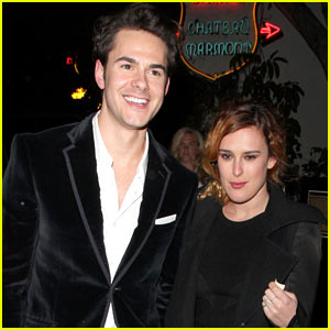 Rumer Willis & Jayson Blair: Chateau Marmont Couple