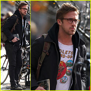 Ryan Gosling Steps Out After Announcing Break From Acting