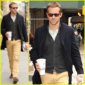 Ryan Reynolds: Burger King Lunch!