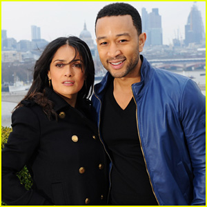 Salma Hayek & John Legend: 'Sound Of Change Live' Launch!