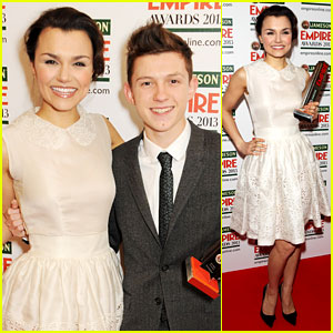 Samantha Barks & Tom Holland: Empire Awards Winners!