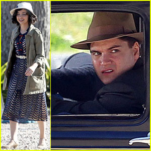 Emile Hirsch & Sarah Hyland: 'Bonnie & Clyde' Filming!
