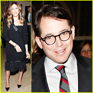 Sarah Jessica Parker & Matthew Broderick: Guild Hall Academy Of The Arts Lifetime Achievement Awards!