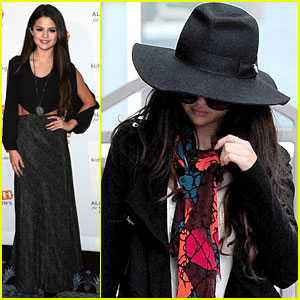 Selena Gomez - Alliance For Children Dinner