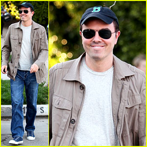 Seth MacFarlane Steps Out Post-Oscars Hosting Gig!