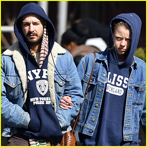 Shia LaBeouf & Mia Goth: New York Twosome!