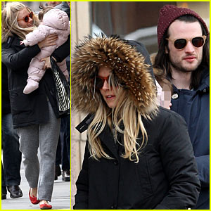 Sienna Miller & Tom Sturridge: Family Day with Marlowe!