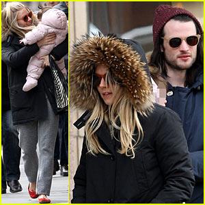 Sienna Miller & Tom Sturridge: Family Day with Marlowe!