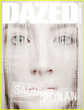 Saoirse Ronan Covers 'Dazed & Confused' April 2013